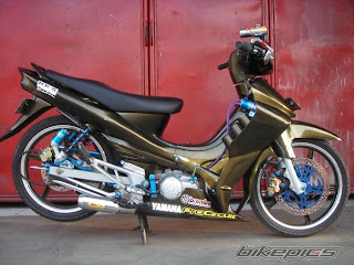Foto Modifikasi Motor Yamaha Jupiter Z 2006