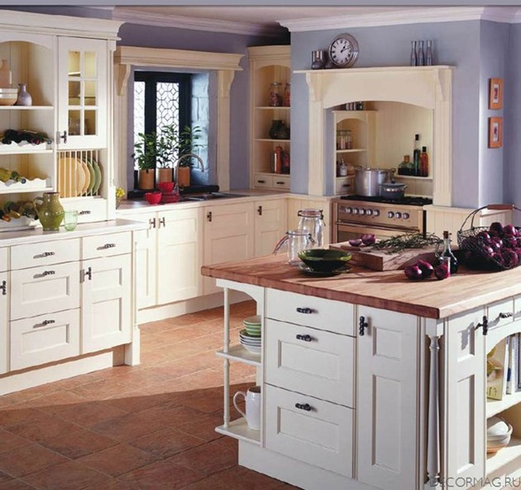 Decora y disena un vistazo al dise o de cocinas tradicionales for Cocinas tradicionales