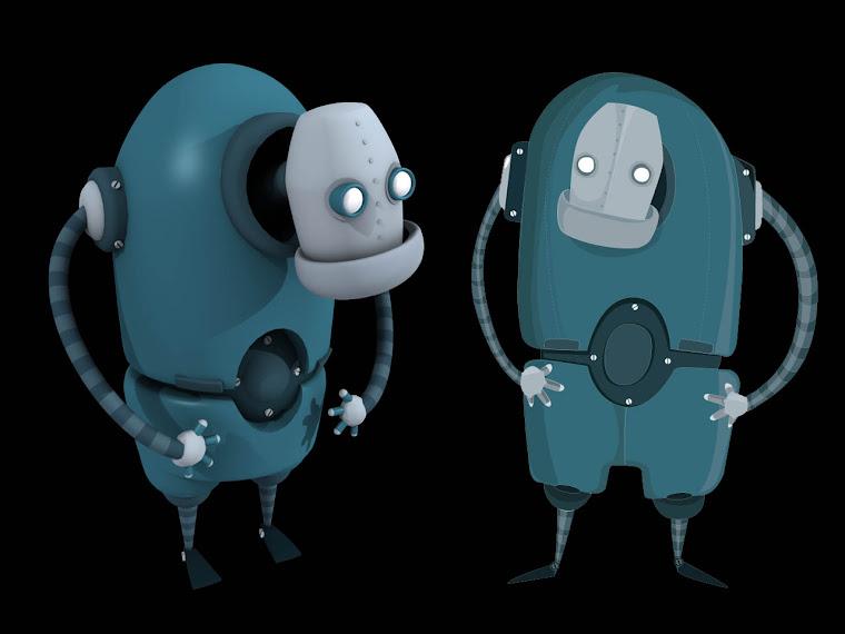 Roboto... 2D vs 3D