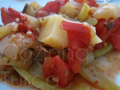 Güveç Vegetariano (Fırında Sebze Güveç)