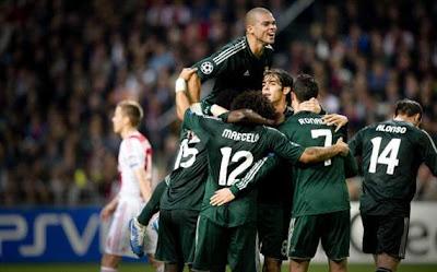 Hasil dan Video Gol Ajax vs Real Madrid Tadi Malam