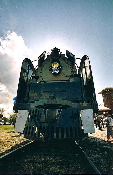 Gambar Kereta Api Lokomotif Uap Union Pacific Northern 4-8-4 844 02