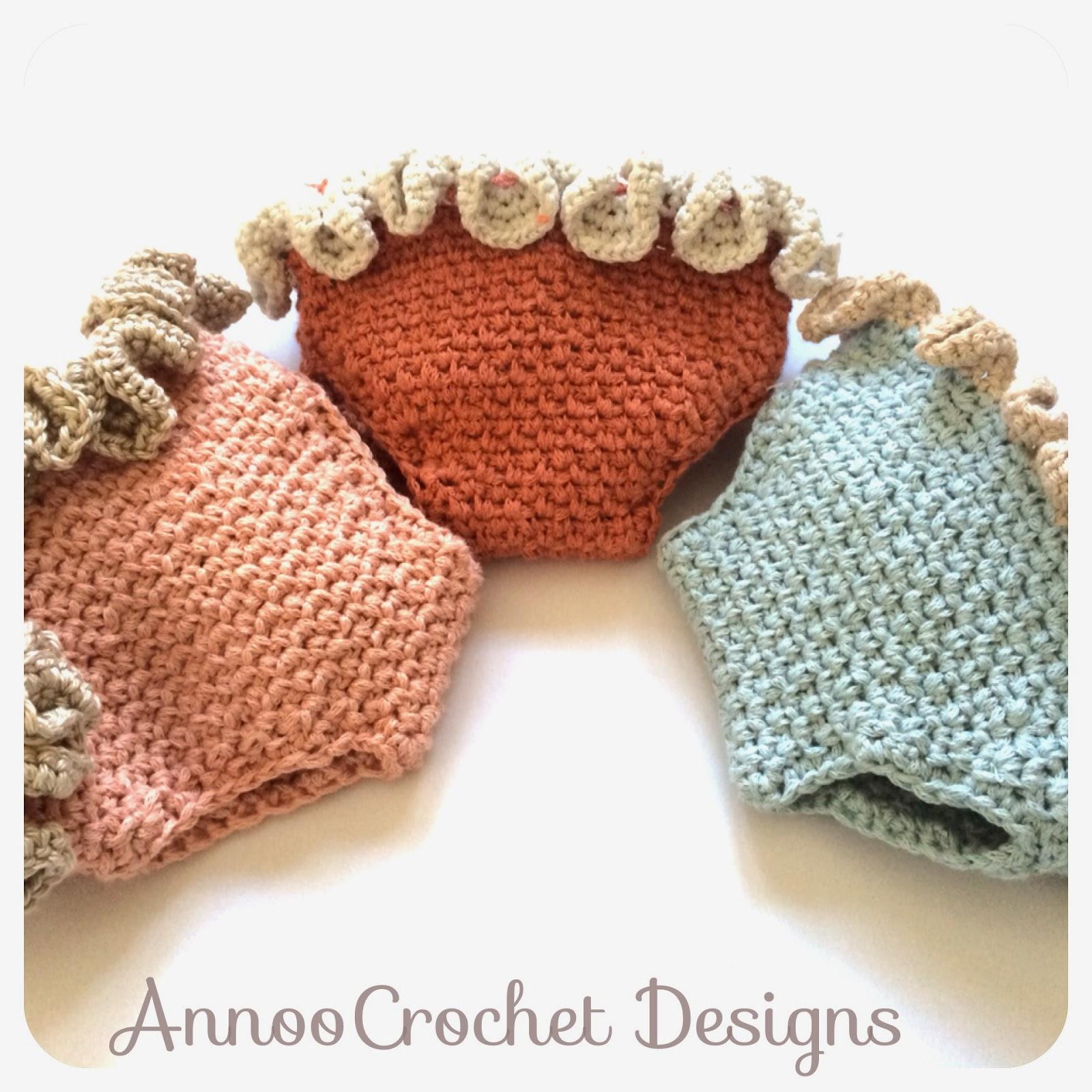 Annoo s crochet world ruffled newborn diaper cover free pattern