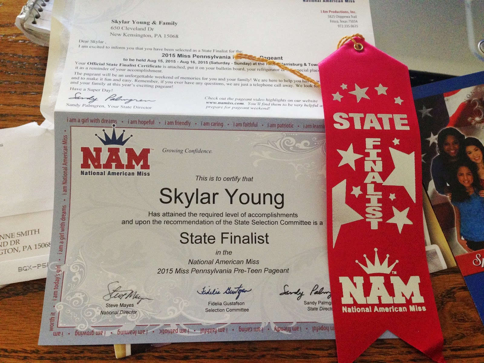 ... Skylar Young's Stars are the Limitz -National American Miss Pre-teen