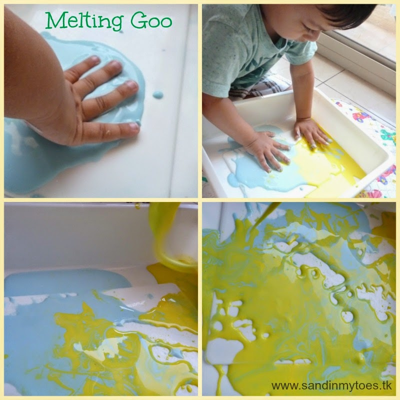 Melting goo play