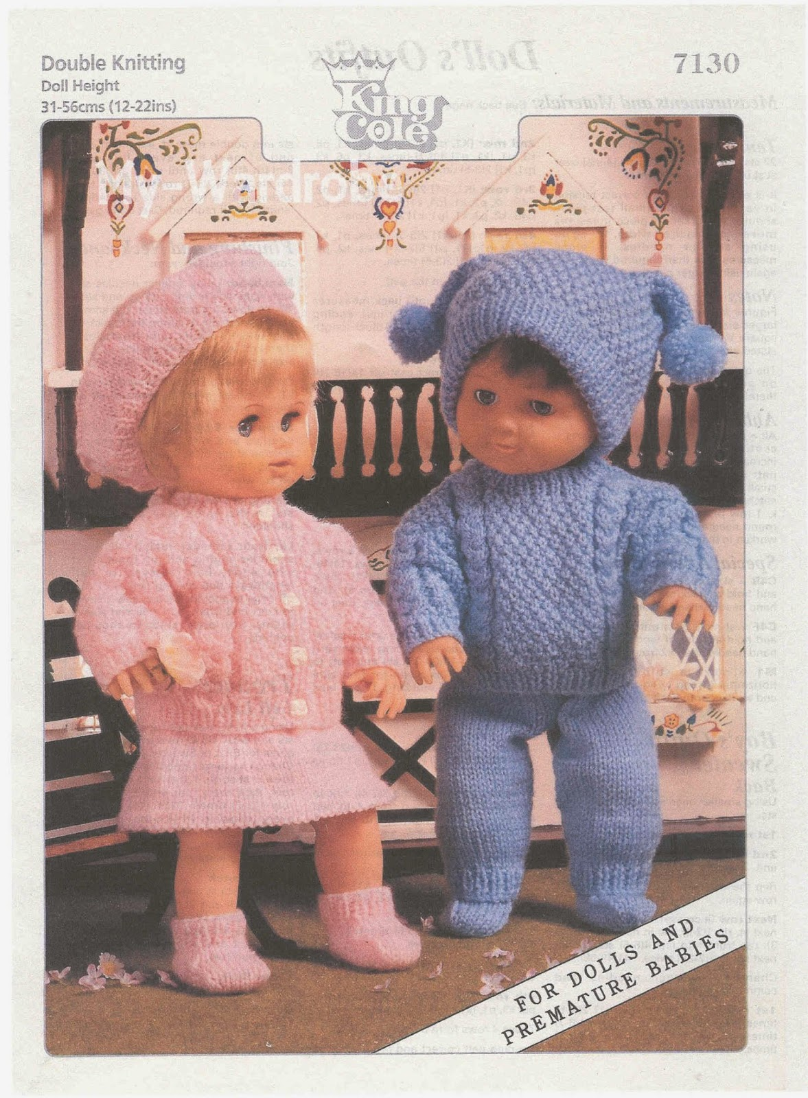 King Cole Campervan Knitting Pattern : Herbies Doll Sewing, Knitting & Crochet Pattern Collection: Vintage ...