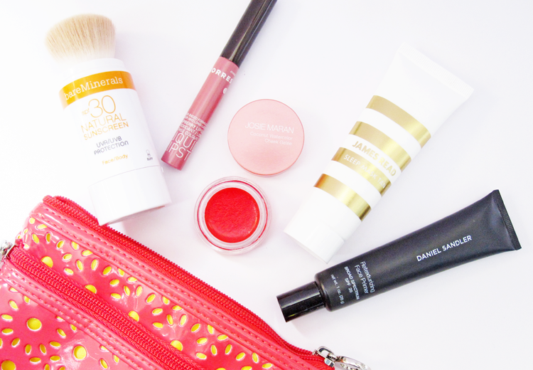 A picture of What's New in my Makeup Bag - Bare Minerals, Korres, Josie Maran, James Read & Daniel Sandler