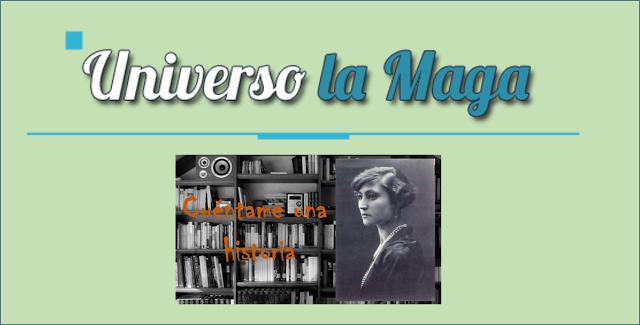 """Mi entrevista para """"Universo la Maga""""."""