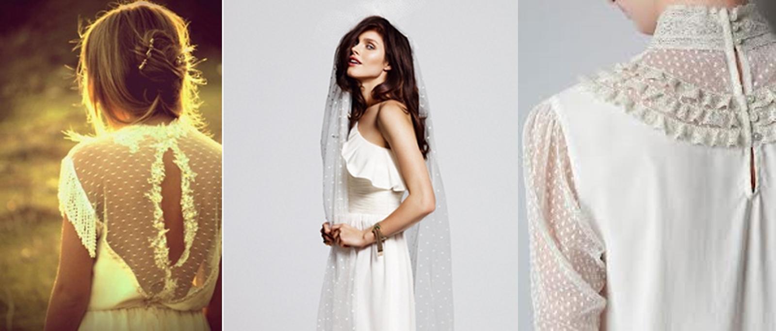 Plumetti en vestidos de novia