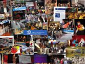Collage activitats de l'associació