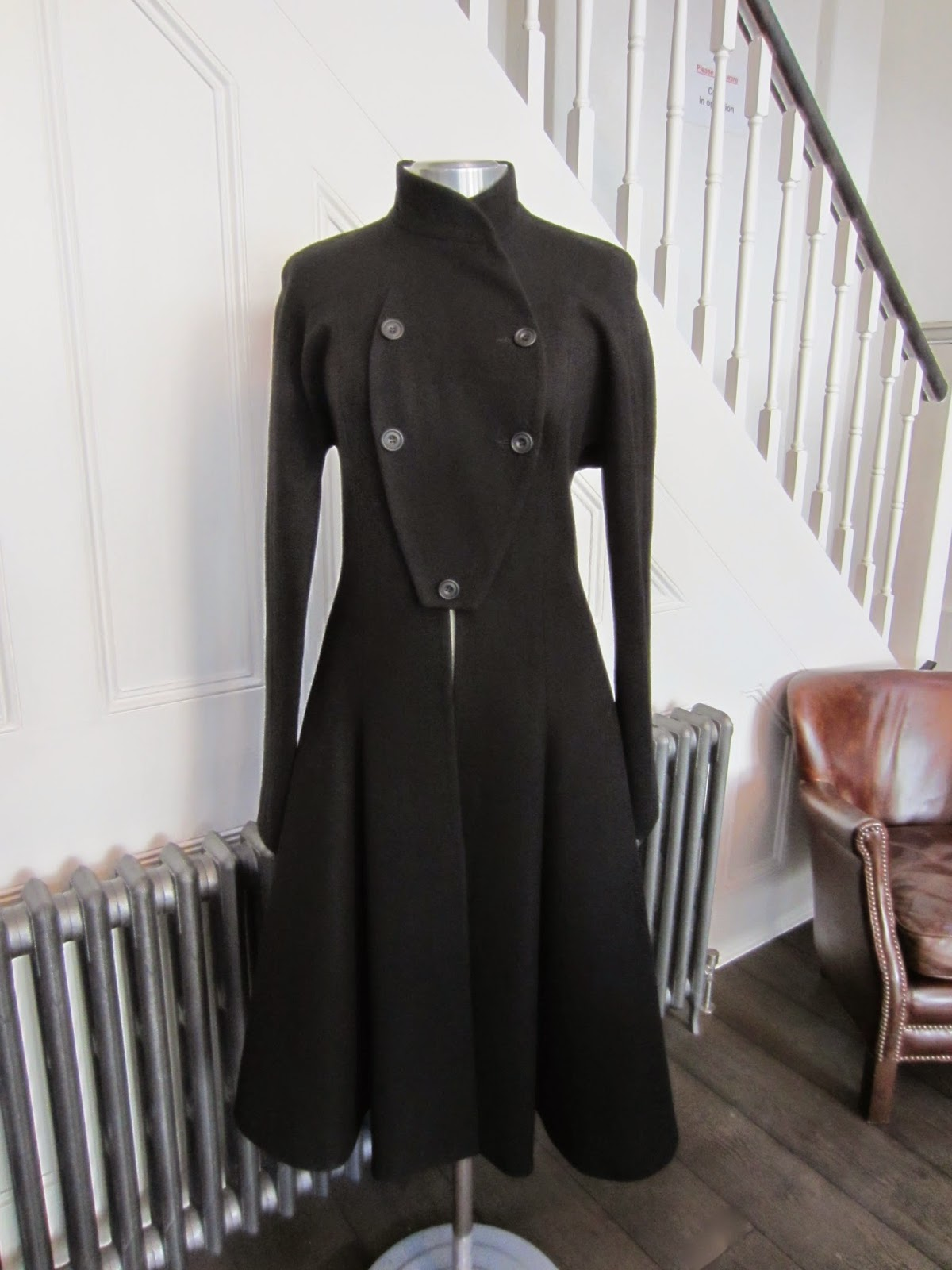 Jasper Conran Black Dress Coat