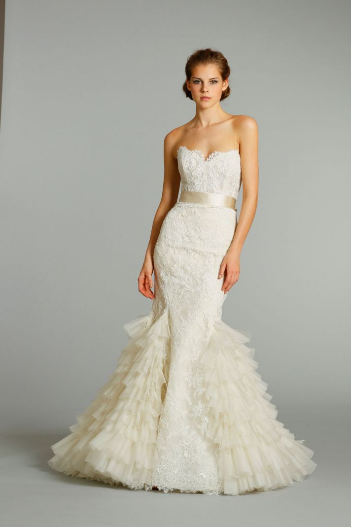 Fall Wedding Gowns : Dawn j s fashion wedding gown dresses from lazaro