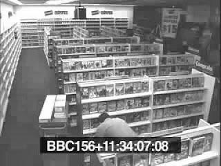 بالفيديو .. جن حقيقى يظهر فى محل ويرعب صاحبه - شريط مراقبة سوبر ماركت - super market surveillance tape
