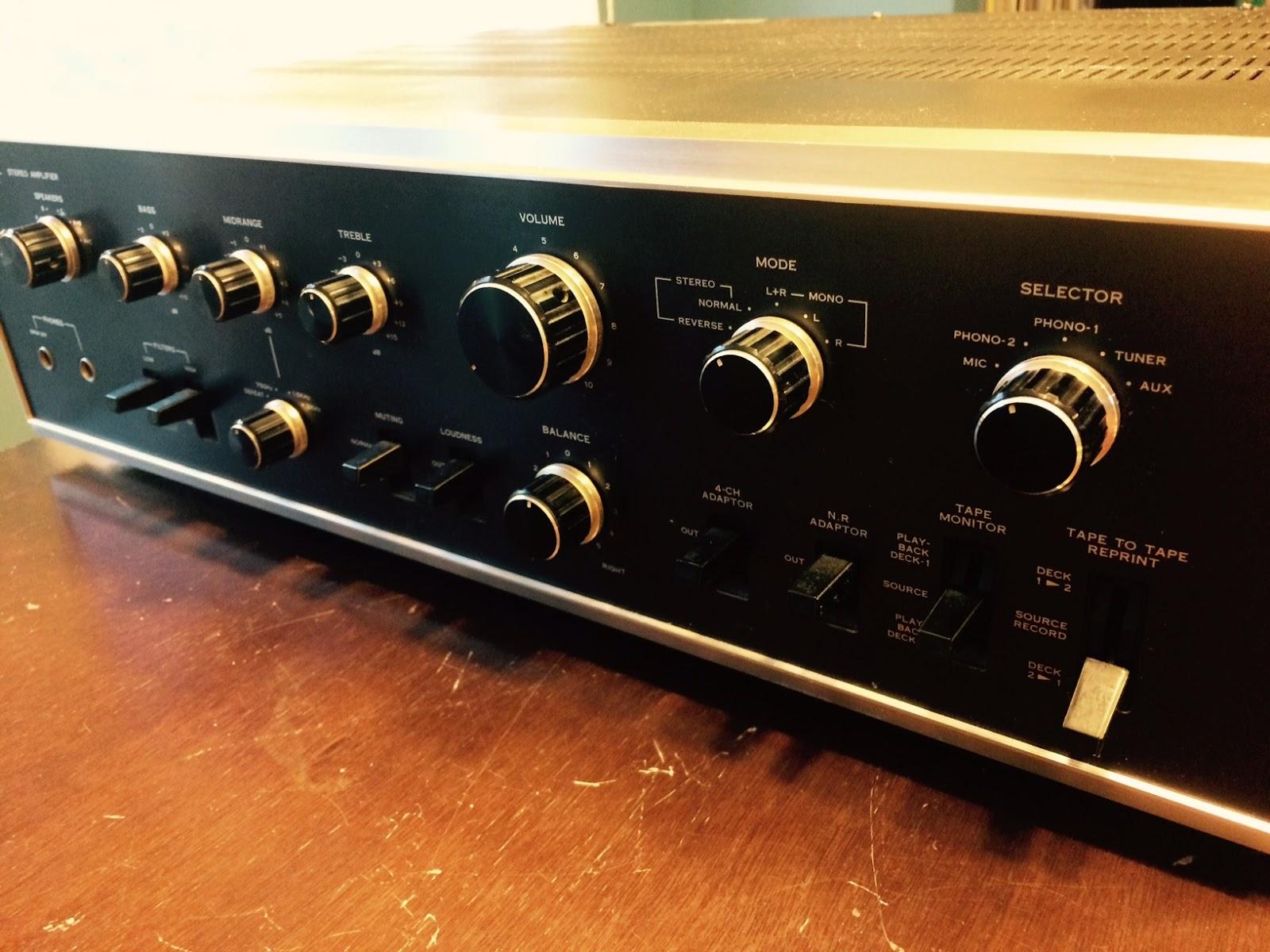 maritime vinyl sansui au 8500 integrated amplifier rh maritimevinyl ca
