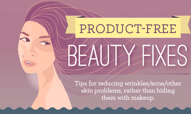 Product Free Beauty Fixes