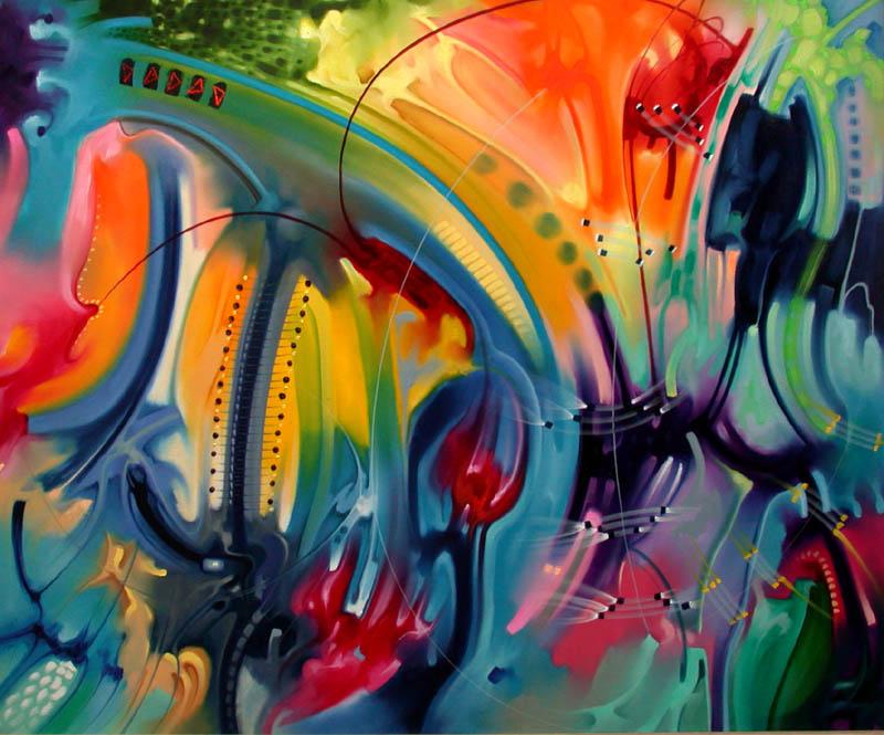 Pintura moderna y fotograf a art stica cuadros de arte for Imagenes de cuadros abstractos geometricos