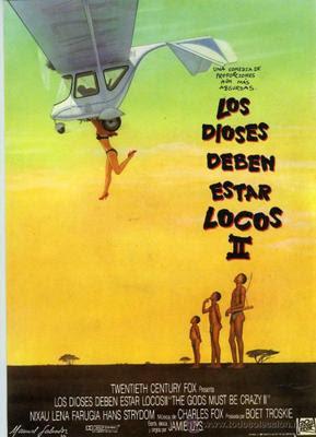 Los dioses deben estar locos 2 (1988) – Latino