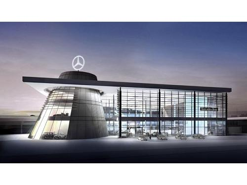 Amazing site for Mercedes benz us headquarters
