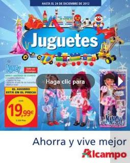 juguetes alcampo navidad 2012