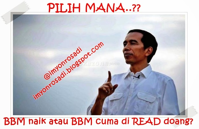 Meme Jokowi BBM
