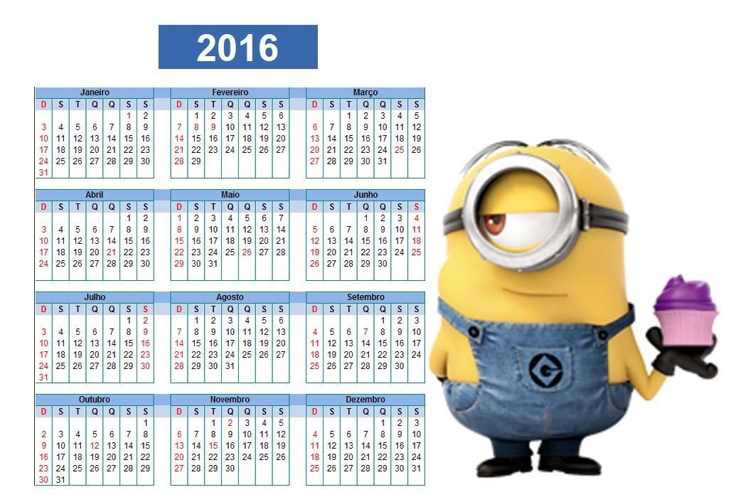Calendario Carnaval 2016 | Calendar Template 2016