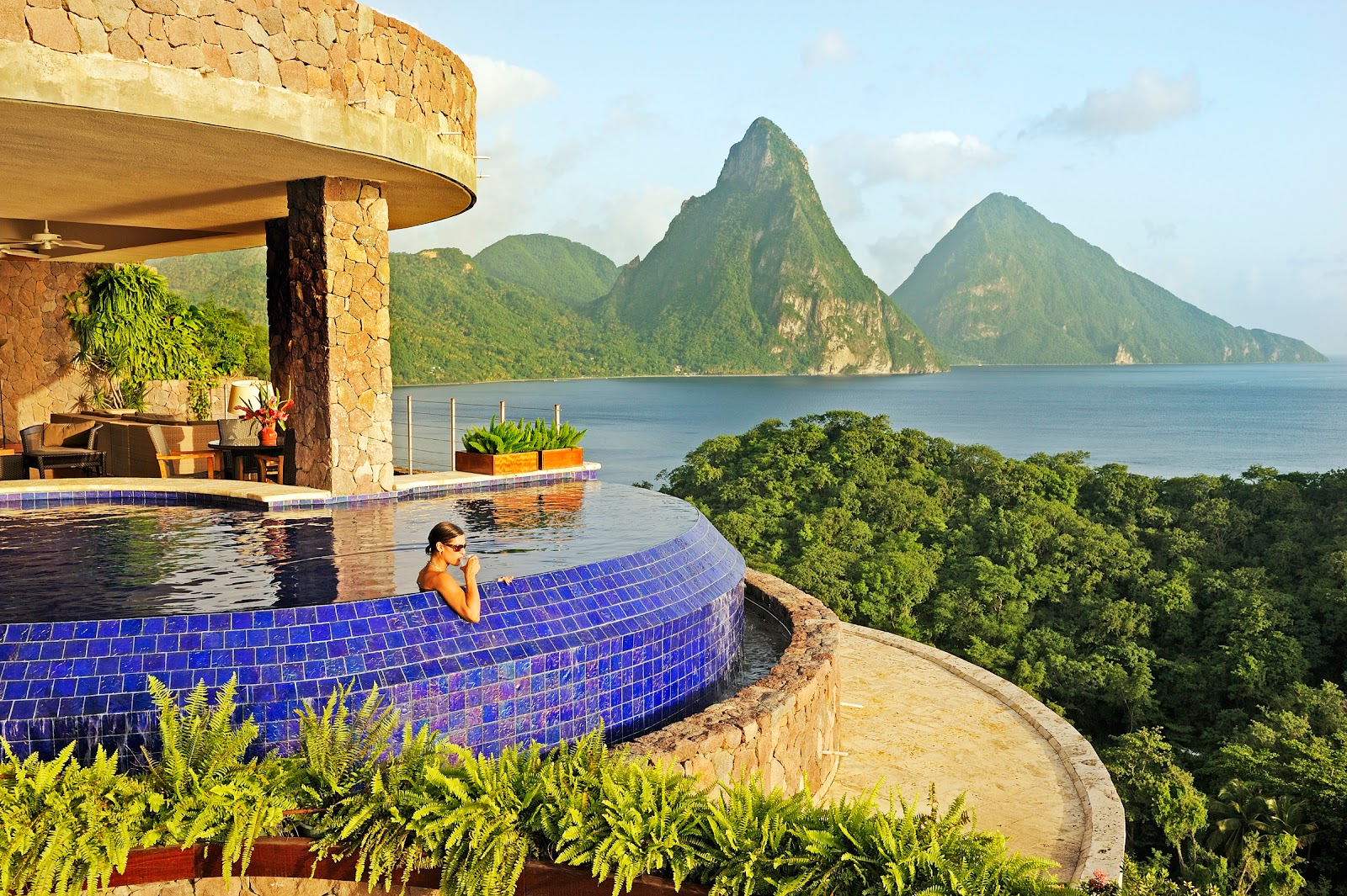 Passion for luxury jade mountain st lucia for Mountain luxury