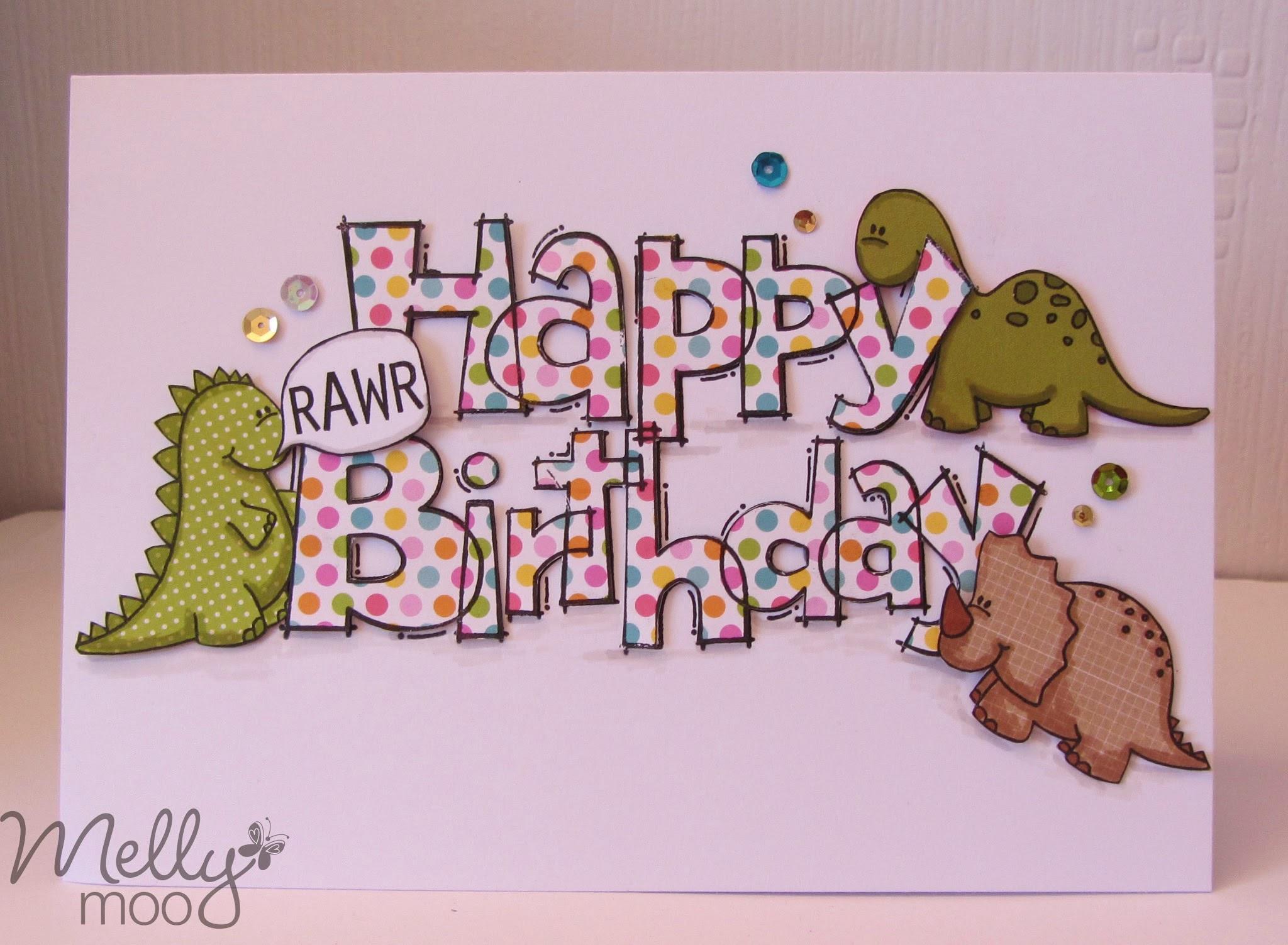craft mojo happy birthday rarw