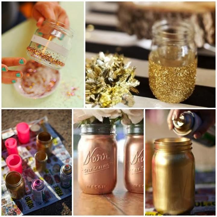 Decoracion de frascos para navidad paso a for Frascos decorados para navidad