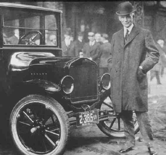 car i 1908 Ford Model T