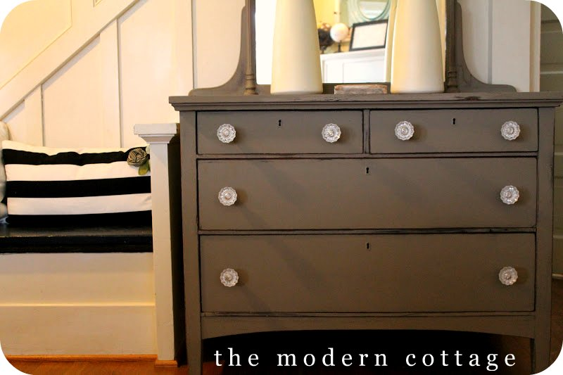 A Chalk Paint Dresser | Meet Alison From The Modern Cottage