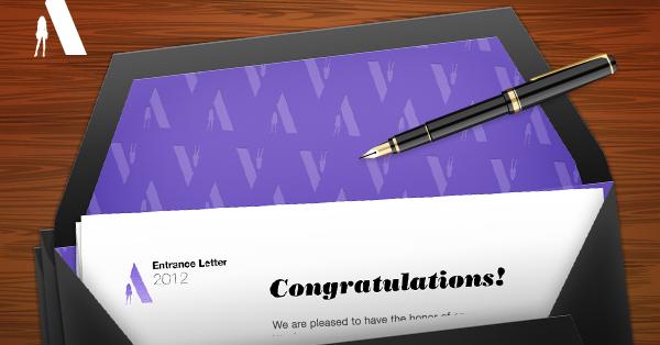 Entrance letter