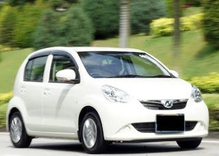 Perodua Myvi sewa