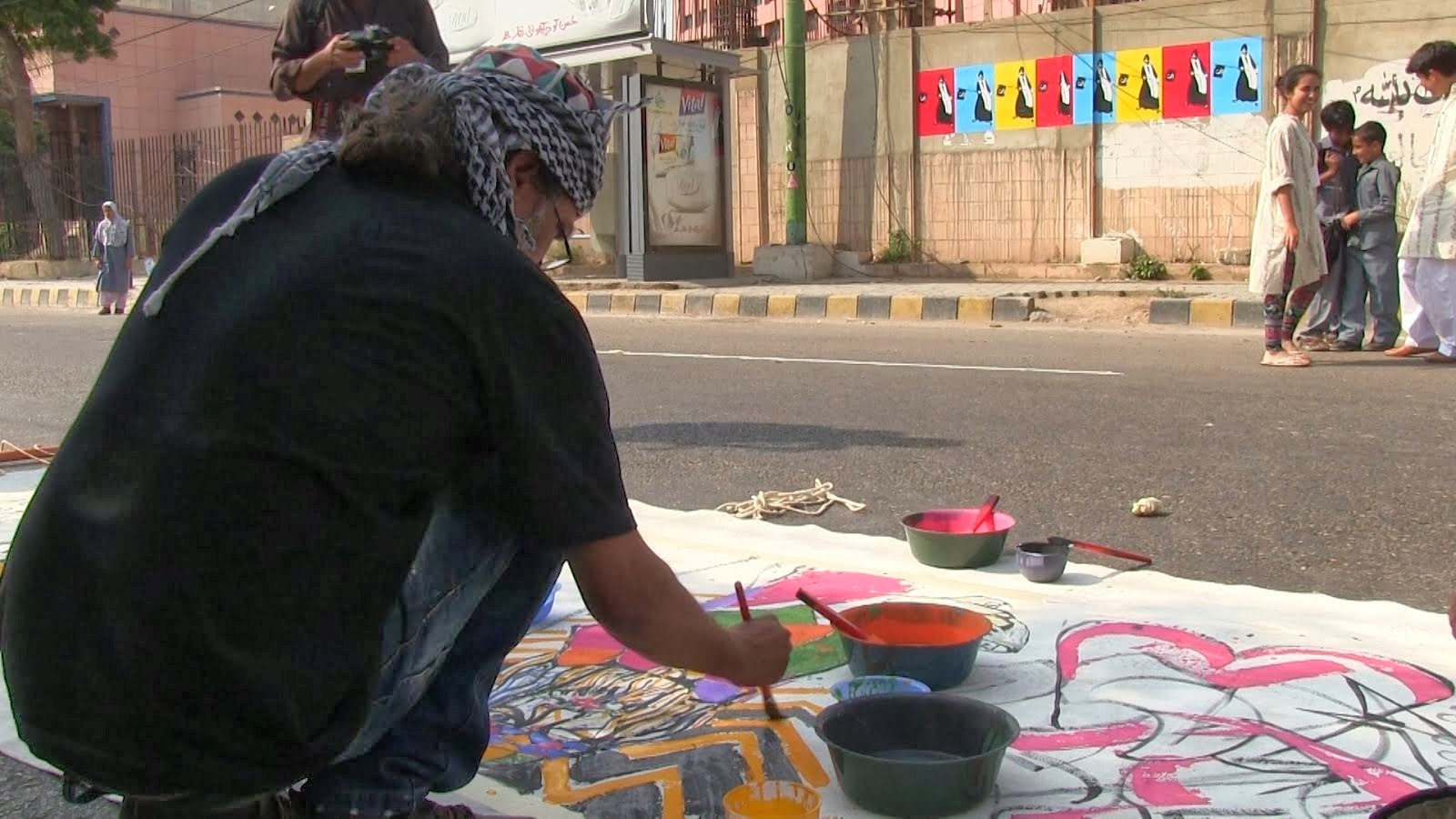 ART FOR PEACE IN KARACHI