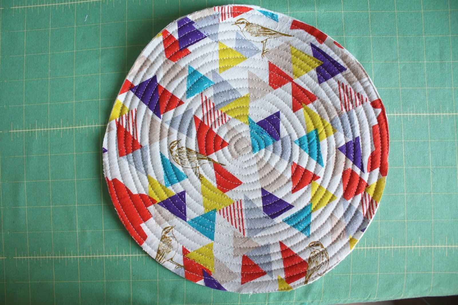 Fabric Plate Warmer ~ Nicole at home tutorial tortilla warmer