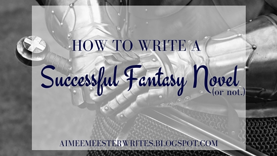 How to write a successful novel