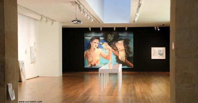 Cuadro en exhibición en el MARCO de Vigo