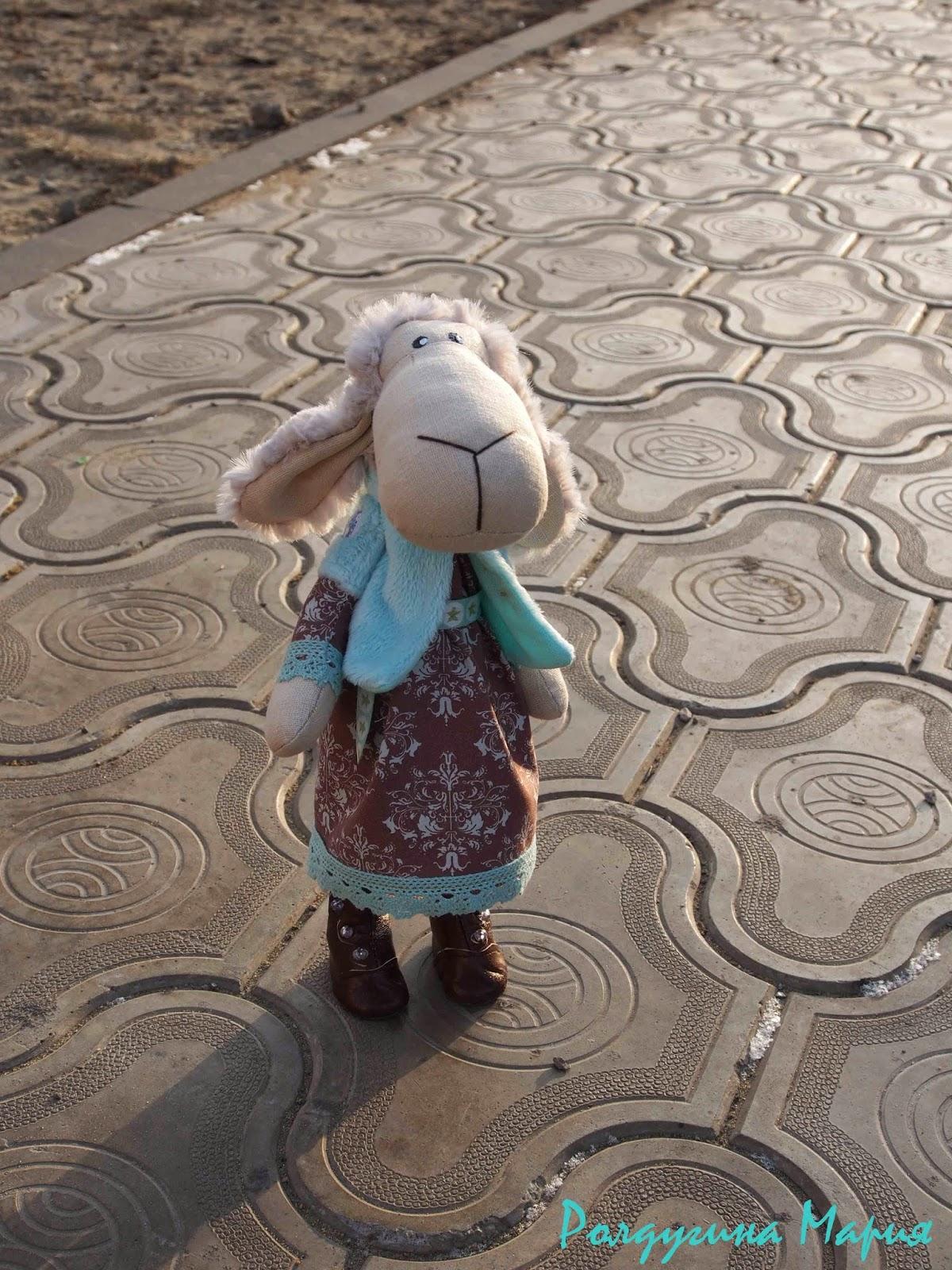 овечка - символ года