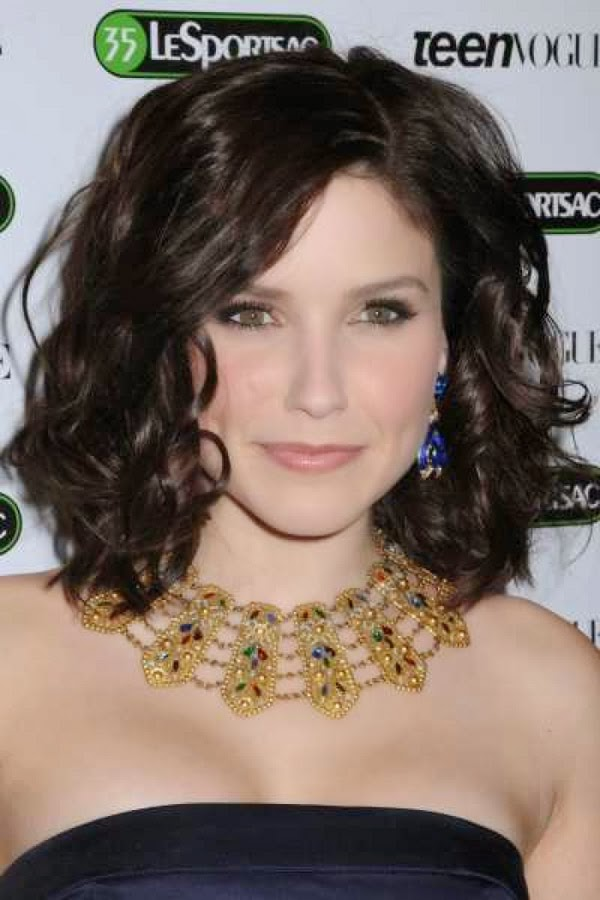 Medium Length Curly Hairstyles 2013