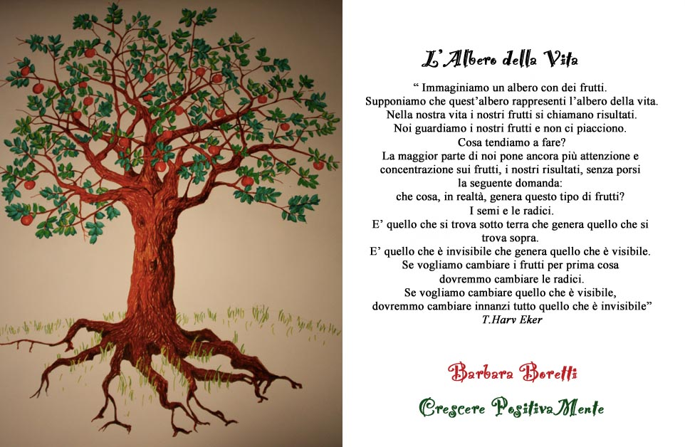 B b blog il blog di barbara boretti crescere for Albero della vita significato