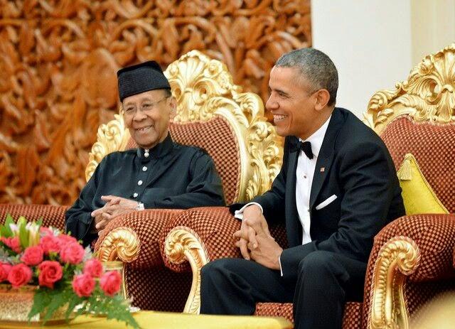 Gambar Gambar Sekitar Kedatangan Barrack Obama Ke Malaysia #Malaysia