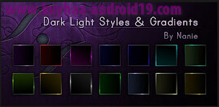 STYLE BRUSES GRADIENT COOL FOR PHOTOSHOP