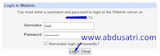 cara create user ssh dengan webmin