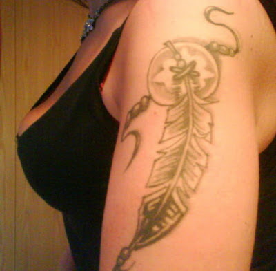 peacock feather tattoo designs on ... - Reviews Book: Feather tattoos is lovely Native American designs