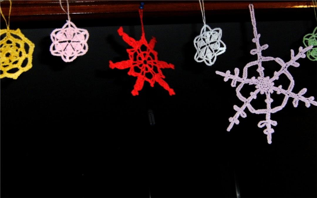 Estrellas de crochet o ganchillo