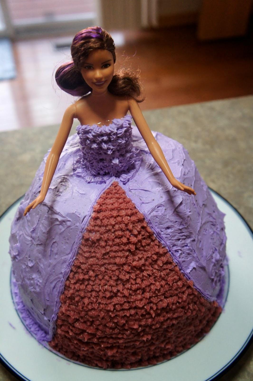 Barbie Chocolate Cake Images : Savory Sweet and Satisfying: Dark Chocolate Barbie Cake ...