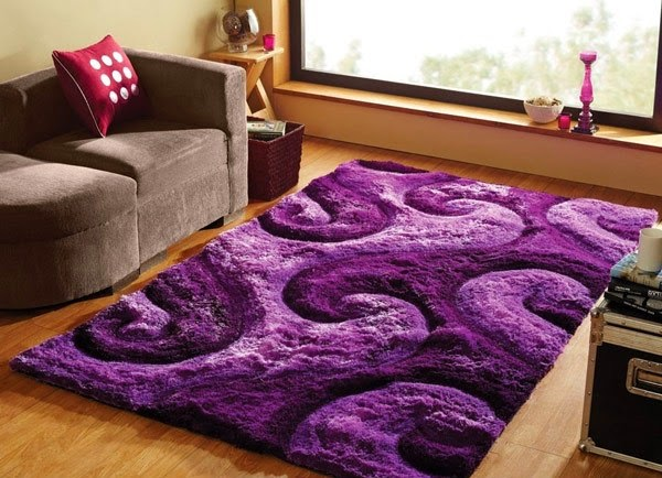 karpet bulu minimalis
