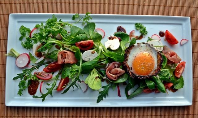 Pourquoi pas salade et oeuf en coque comestible - Pomme de terre germee comestible ...