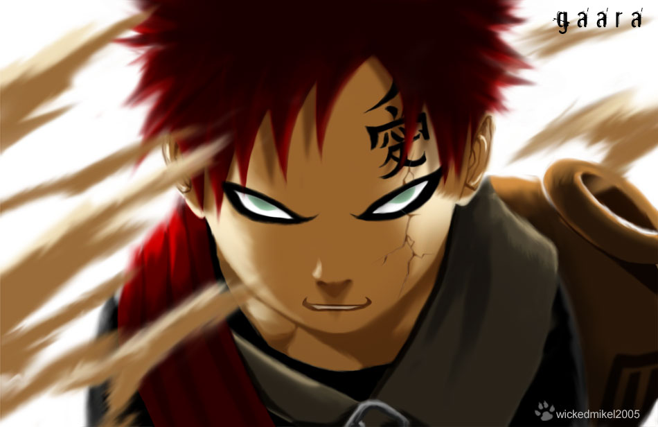 evil laugh  Gaara Of The Desert Evil