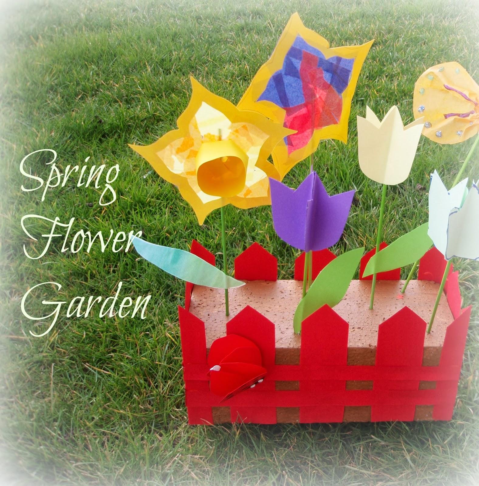 Spring Flower Garden