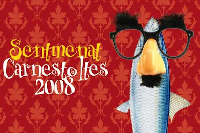 Cartell de Carnaval - Sentmenat 2008